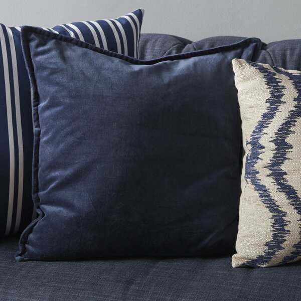 Bradford Smooth 100% Cotton Throw Pillow by Willa Arlo Interiors
